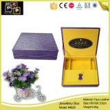 Comercio al por mayor Elegante joyero de cuero hechos a mano (4620)
