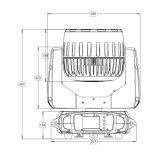 Neue Wäsche-Kopf-Lichter des Stadiums-Modell-7PCS*40W bewegliche