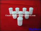 Resistencia al calor Miky sílice blanco cuencos de cristal de cuarzo.