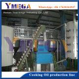 Type de traitement par lot de 10T/D de semences de légumes raffinerie de pétrole brut de Camellia plante