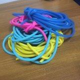 Colorare il tubo di gomma del silicone, i tubi flessibili di gomma, tubo di gomma elastico del silicone