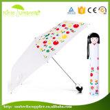 창조적인 개인화된 향수병 우산 귀여운 일본 소녀 Kawai