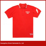 Homens feito-à-medida do algodão da boa qualidade camisas para relativo à promoção (P43)
