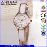 Relógio luxuoso da mulher de quartzo do clássico OEM/OEM da forma (Wy-103E)