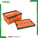 Caisses compressibles pliables d'entreposage de légumes de matière plastique pour le transport