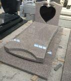 G732 en forma de corazón de granito tumba Memorial de la banqueta para Hollands