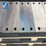 O metal de folha feito sob encomenda fabricou a placa baixa entalhada 250*150*16mm