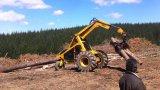Tenazas Grasper registro Registro de Tractor pala cargadora