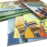 Impresión a todo color modificada para requisitos particulares fábrica Softcover del libro de niños de los libros de los cabritos