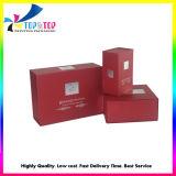 Impresso OEM de cosméticos de luxo caixas de embalagens de papel dobrável