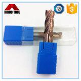 Кпч55 Tisin покрытие квадратный конец мельница с высокая износостойкость