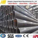 Matériau de construction soudé de pipe d'acier du carbone de LSAW/ERW