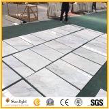 Дешевые китайские новые плитки стены пола Volakas белые каменные мраморный
