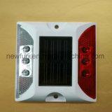 Intense goujon solaire de route de l'aluminium DEL de réflecteur de luminosité
