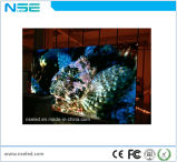 Visualización de pantalla de alquiler de interior de la alta resolución P4 LED