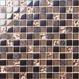 Vidrio del mosaico del suelo y de la pared del cuarto de baño de los mosaicos