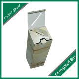 Regalo de navidad de vino de Cartón Ondulado caja de embalaje para una sola botella
