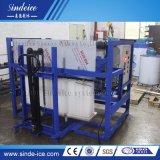 Manipulação fácil 3 Ton máquina de fazer gelo do bloco de máquinas com salvas do trabalho