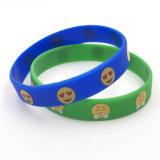 Regalar baratos a granel Colores Surtidos Logotipo personalizado pulsera de silicona