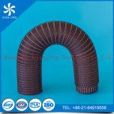 Biegbare Isolierflexible runde Aluminiumleitung/HVAC galvanisierte flexible Wetterlutte