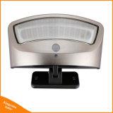 800lm la luz solar 36 Sensor de movimiento del Jardín de pared LED impermeable de la luz de lámpara de seguridad con 4 modos