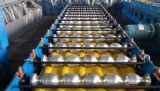 Het hydraulische Staal van het Dak van het Blad van de Tegel van het Metaal van het Staal van de Kleur verglaasde Broodje Vormt Machine