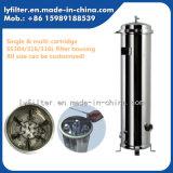 Custodia di filtro industriale della cartuccia dell'acciaio inossidabile 304 316 316L con 10 '' 20 '' 30 '' 40 '' lunghezze