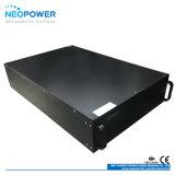 potencia montada estante de la UPS de 5kw 3u con el módulo de batería externo