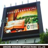 La publicité polychrome moyenne de l'Afficheur LED 100W/M2 P10 de l'énergie 50% de Saveing