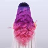 La meilleure qualité de la mode Tonalité longue populaires trois corps les perruques de cheveux d'onde