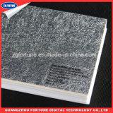 Carta da parati solvibile di Eco di alta qualità con struttura impressa in argento