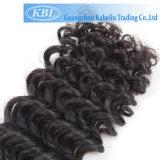 충분히 고전적인 작풍 Dyeable 사람의 모발 긴 꼬부라진 가발