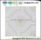 Panneau en aluminium de matériaux de construction revêtement du rouleau de plafond d'impression
