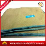 Cobertor térmico do hospital do cobertor da camada dobro da flanela do poliéster