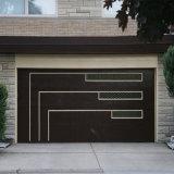 Porte de garage électrique/porte de garage automatique de coupe/porte de garage en acier de coupe personnalisée