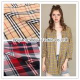 Garn gefärbtes Baumwollgewebe des Plaid-32s für Hemd