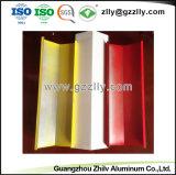 Eleganter Aussehen-Baumaterial v-förmiger Streifen-Aluminiumdecken-Fliese