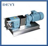 Pompe rotatoire de rotor de pompe de lobe de vitesse sanitaire de pente d'acier inoxydable