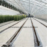 Белый цвет PE тканого массу крышку с сорняками коврик для выбросов парниковых газов