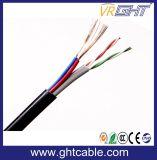 Cat5e 2 Kabel van de Kabel UTP van de Kabel van de Macht Siamese