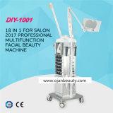 Popular en el Facial 18 del cuidado de piel del salón en 1 máquina de múltiples funciones de la belleza