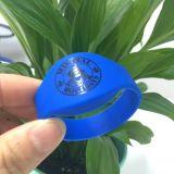 La norme ISO18092 NTAG RFID213 NFC bracelet en silicone étanche
