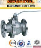 "Kohlenstoffstahl API 6D Wcb 3 "" /6 "" Zoll-pneumatisches Kugelventil Pn40"