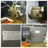 旋盤機械スイスのタイプCNC自動Ck6136 Ck6140 Ck6150の旋盤
