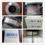 Collegare di saldatura rivestito del rame a gas protettivo del CO2 Er70s-6