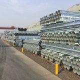 Il prezzo galvanizzato del tubo d'acciaio del TUFFO caldo, BS1387 ha galvanizzato il prezzo del tubo d'acciaio per tester, codice categoria B del tubo galvanizzato Ss400