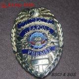 El mérito de metal de la fábrica Polo insignias de la policía personalizado para el recuerdo