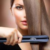 Straightener cerâmico do cabelo do ferro liso Titanium inteligente elétrico novo por atacado com ferro liso do salão de beleza do cabelo do tipo conhecido dos dentes
