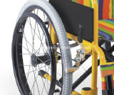 아이들을%s 소아과 아이들 수동 휠체어를 접혀 의학 건강 장치 알루미늄 라이트급 선수
