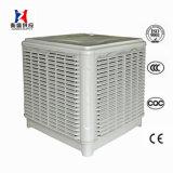 Dispositivo di raffreddamento di aria fissato al muro del dispositivo di raffreddamento evaporativo del sistema di raffreddamento del magazzino del workshop